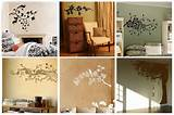 ... ideas on wall, here are several beautiful floral picture on wall