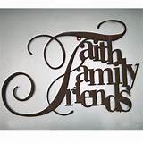 Home Black Friday Doorbusters Faith Family Friends Sign