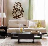 Lord Ganesh vinyl Wall DECAL Hindi Hindu India sticker art home decor ...