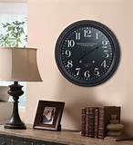 ... Wall Clock- Decorative Clocks- Cooper Classics - Home and Patio Decor