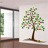 Wall Decals - Beautiful Cherry Tree - Wall Stickers