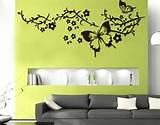 ... vinyl wall sticker decor 300x235 butterfly vinyl wall sticker decor