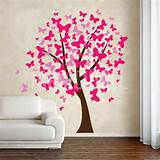 Butterflies Tree - Wall Decals Stickers Tattoos
