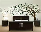 Decoration Autumn Wall Sticker Tree Beautiful Bedroom Wall Stickers ...