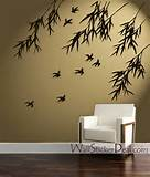 Birds and Bamboo Wall Stickers - Home Decorating Photo (31463371 ...