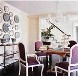dining rooms - purple chairs, purple velvet chairs, purple dining ...
