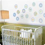 Heres Baby Boy Dots Vinyl Nursery Wall Decals | Add Heres Wall Decals ...