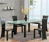 dining room sets beautiful home with modern dining set and wall decor ...