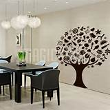 Wall Decals Canada-Wall Stickers - Foods Tree - Dining Room ...