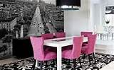 Dining room wall decor with paint or wallpaper home by designs