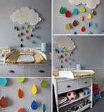Gorgeous Rain Cloud Mobile Baby Room Decor
