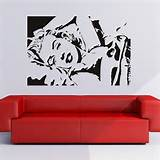 ... Icons and Celebrities Wall Art Decals Wall Stickers Transfers | eBay
