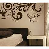 Retro flower Wall Art Home Decor Murals Vinyl Decals by popdecal ...