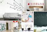 wall art decals 12 Wall Art Decals That Celebrate Modern Style