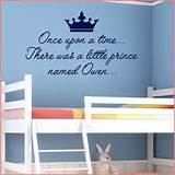 LITTLE PRINCE PERSONALISED NURSERY WALL ART~ Wall sticker / decals