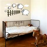 tweet counting sheep wall sticker wall stickers from abode wall art