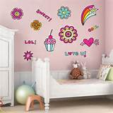 tweet girls wall sticker set wall stickers from abode wall art