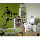 ... Ronaldo wall art sticker - Celebrity - Wall Stickers Decals Australia