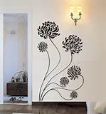 ... Flower Vinyl Wall Decal by 7 Decals - contemporary - decals - by Etsy