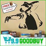Arrival!Large Size King Of Pop MJ Wall Sticker Wall Paper Home Decor ...