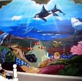 Child's Maritime Theme Bed rooms wall mural | Wallpaper Mural
