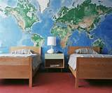it comes to boys' rooms, sometimes less is more. Just one wall mural ...