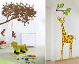 Kids Fun Wall Decor Ideas - Wallpaper Murals Inspirations