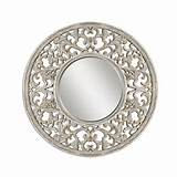 Uttermost Lighting Round 60-Inch Mirror | 09510 | Destination Lighting