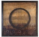 Buy Uttermost Mink Stole 38 Inch Square Framed Art on sale online