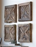 Uttermost Rustic Pine Wood Wall Art