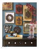 ... behind the wallscape from page 24 of the new home decor catalog