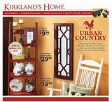 Urban Country decor...Kirklands new collection