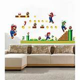 ... Yoshi Game TOY ART Removable Wall Sticker Decal Kids Room Decor | eBay